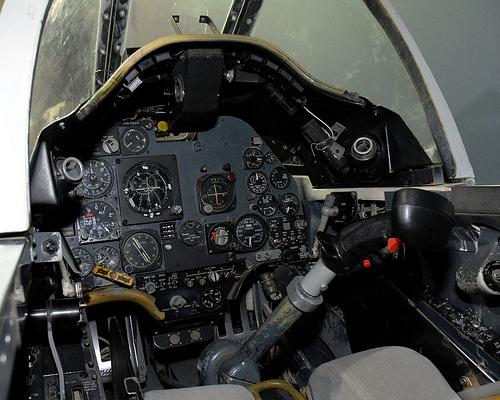 A4 cockpit