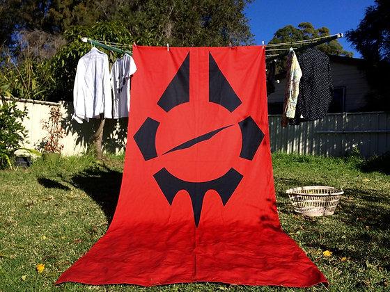RB Flag - backyard