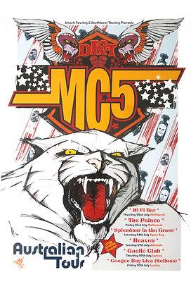Poster A3 - DKT-MC5 Australia 2004 feat.D.TEK