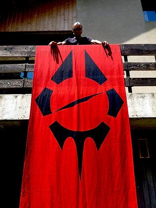 RB flag with Deniz
