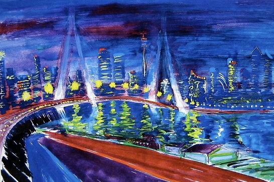 """""""Anzac Bridge"""""""