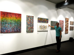 Exhibit at the Hand Of Law gallery