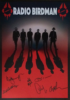 Poster A3 - RB Europe 2016 - signed