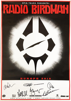 Poster A2 - RB 2015 - signed