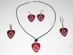 RB keyrings/pendant/earrings