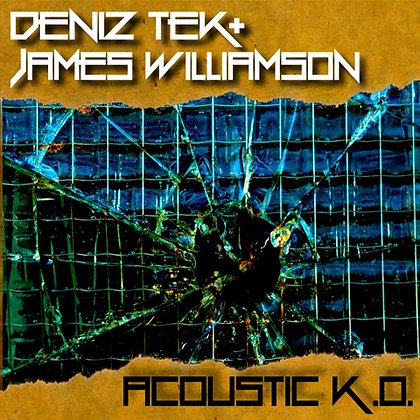 "10"" Vinyl EP - ACOUSTIC K.O signed by James & Deniz"