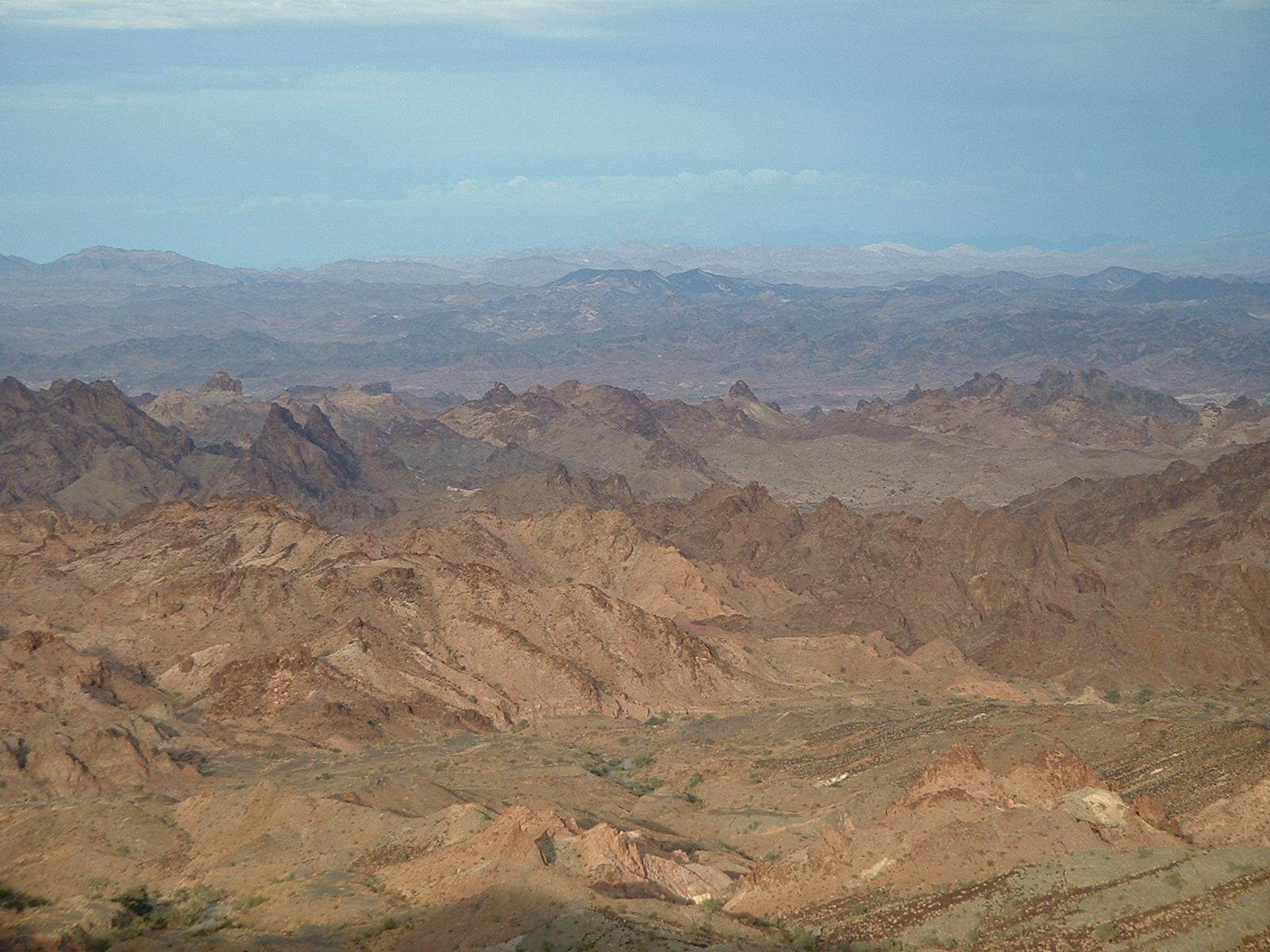 Chocolate Mountains, AZ
