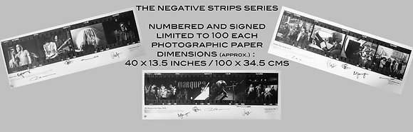 "RB - set of 3 ""negative strips"" large prints"
