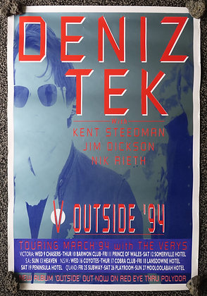Poster A1 - DT 1994 Outside tour