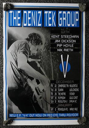 Poster A1 - DT 1995 - 444 tour