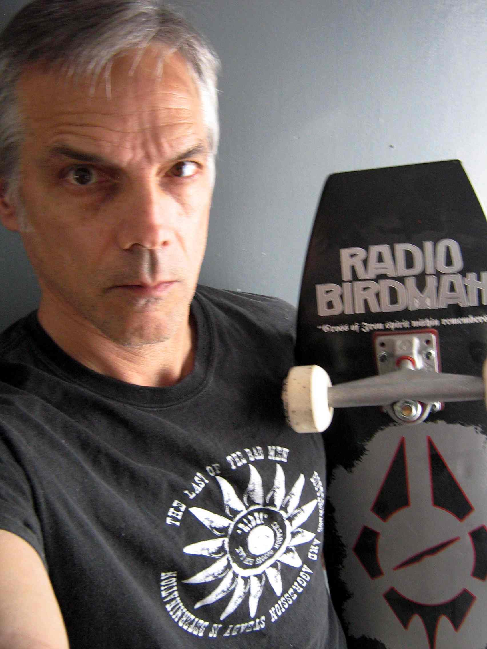 Radio Birdman skateboard