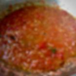 Summertime Raw Tomato Sauce