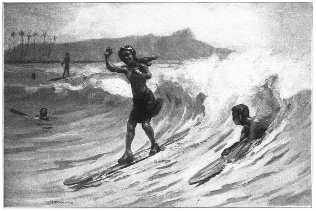 Contrary to how we see surfing today, surfing was initially meant to move in one straight direction.