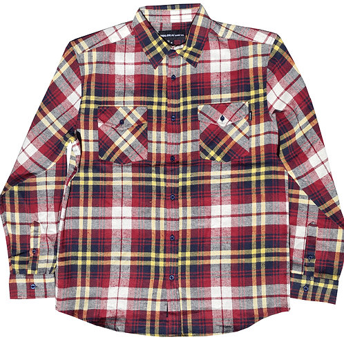 Yellow and Red Flannel