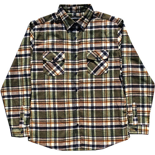 Evergreen Plaid Flannel