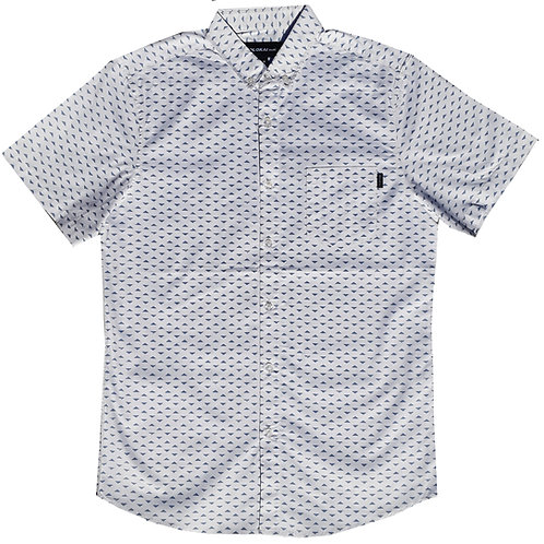 White Grey Triangle