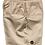 Thumbnail: Khaki Elastic Waist Walkshorts Drawstring