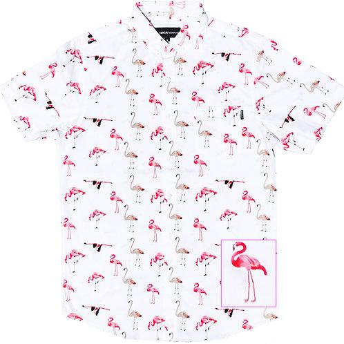 Flamingo White