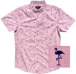 Flamingo Pink Pattern