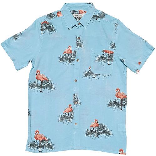 Light Blue Flamingo