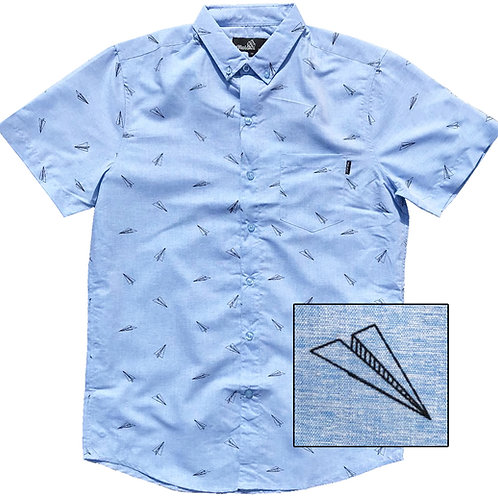 Paper Airplanes (Light Blue)