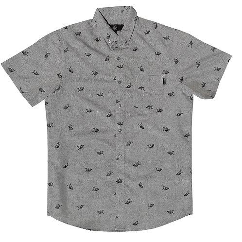 Sharks Outline Grey