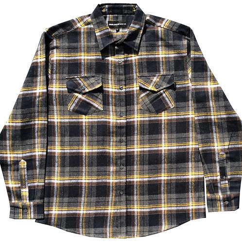 Black and Yellow Flannel