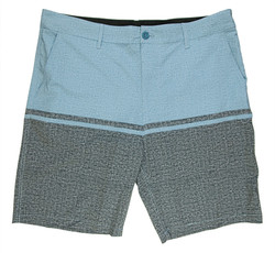 Light blue and grey