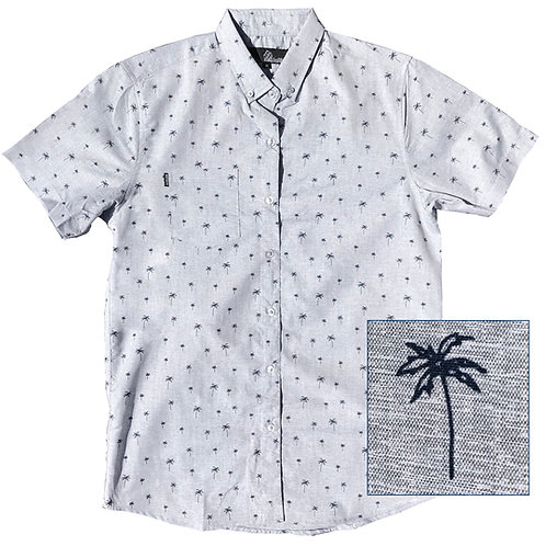 Palm Trees Pattern (Grey)