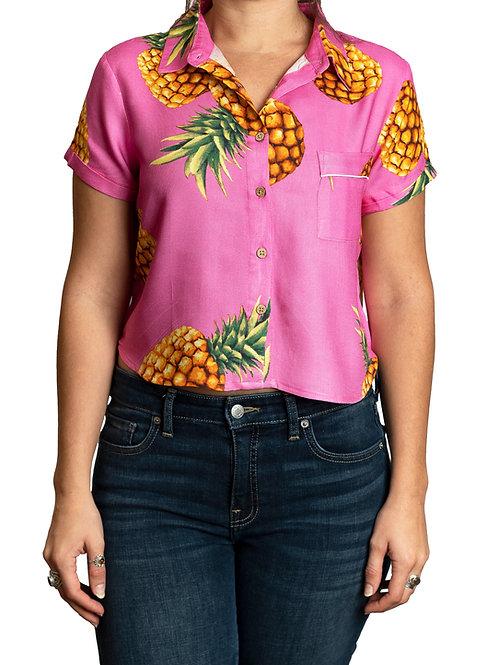 Pink Pineapple (Short Sleeve)