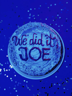 We did it Joe