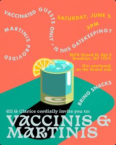 Vaccinis & Martinis