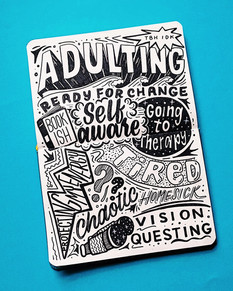 Adulting Collage
