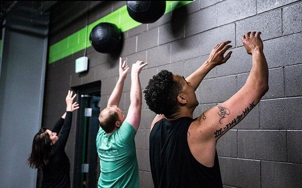 Our CrossFit members get after it! _coal