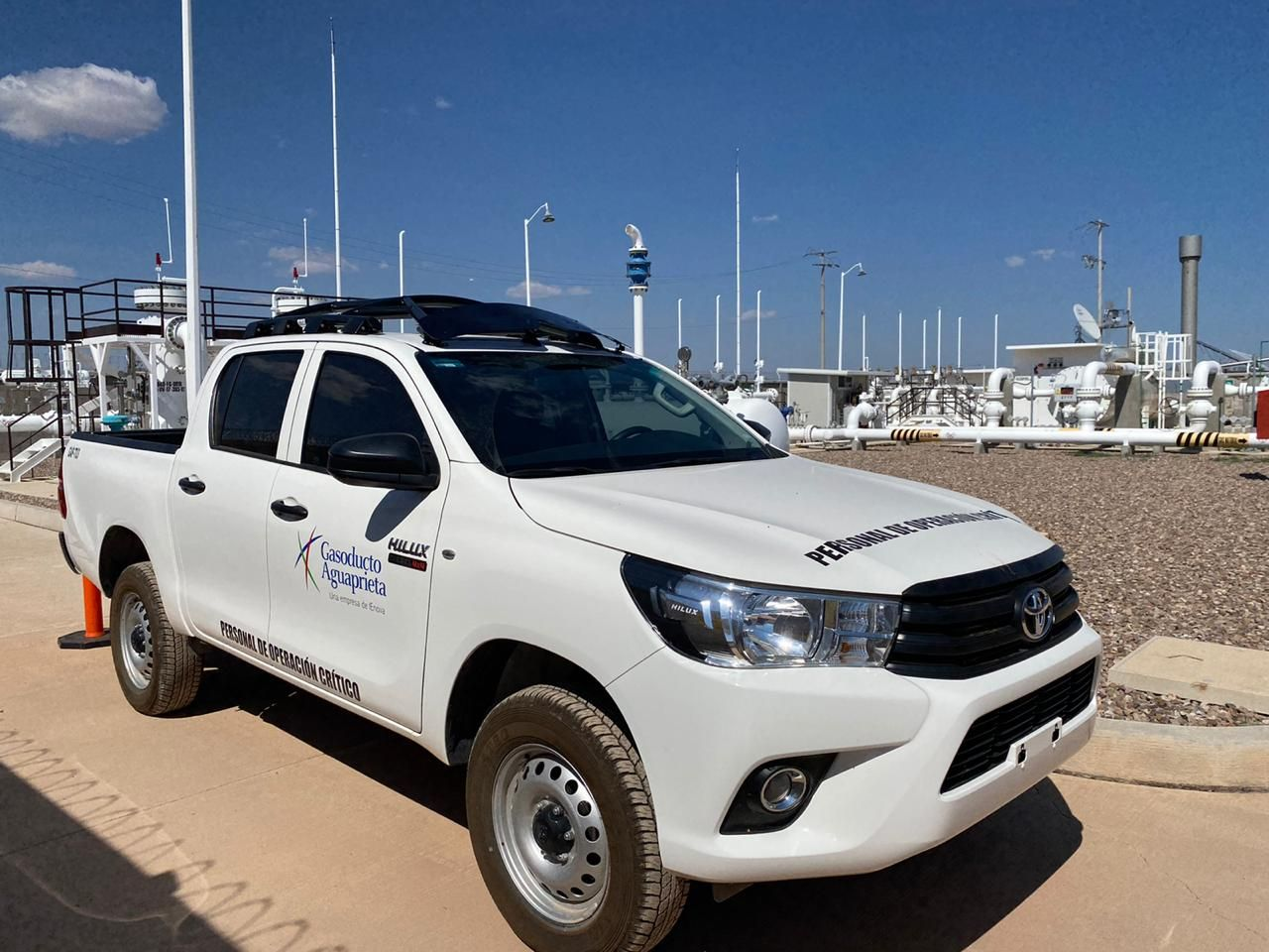 2020 Toyota Hilux with HALO H16