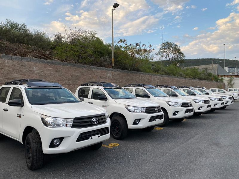 2020 Toyota Hilux Fleet - IEnova