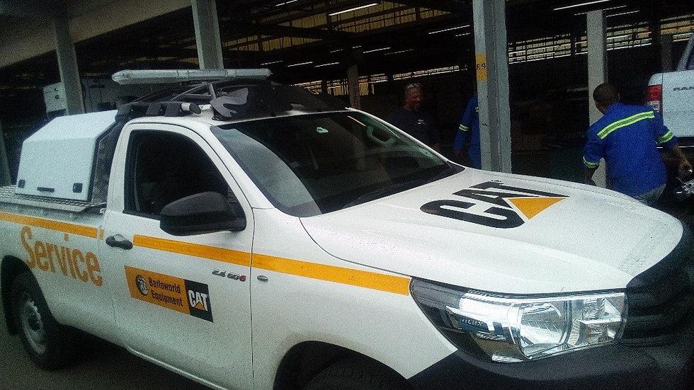 H17 - Toyota Hilux 2 Door HALO ROPS Registration