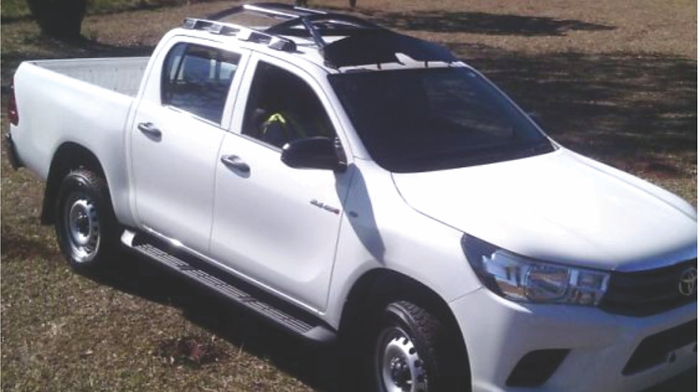 H16 Toyota Hilux 4 Door HALO ROPS Registration