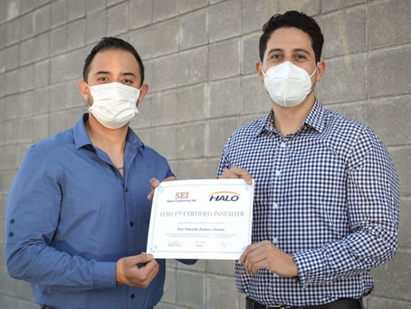 New Certified Installer - SEI Mexico