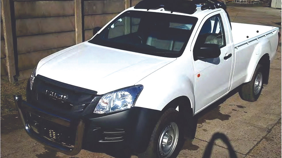 H11 Isuzu 2014 Single Cab 2 Door HALO ROPS Registration