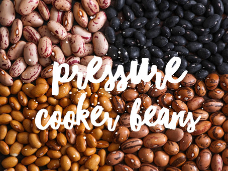 Pressure cooker/Instant Pot Pinto Beans