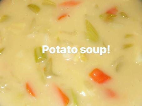 Pressure Cooker Cream of Potato Soup