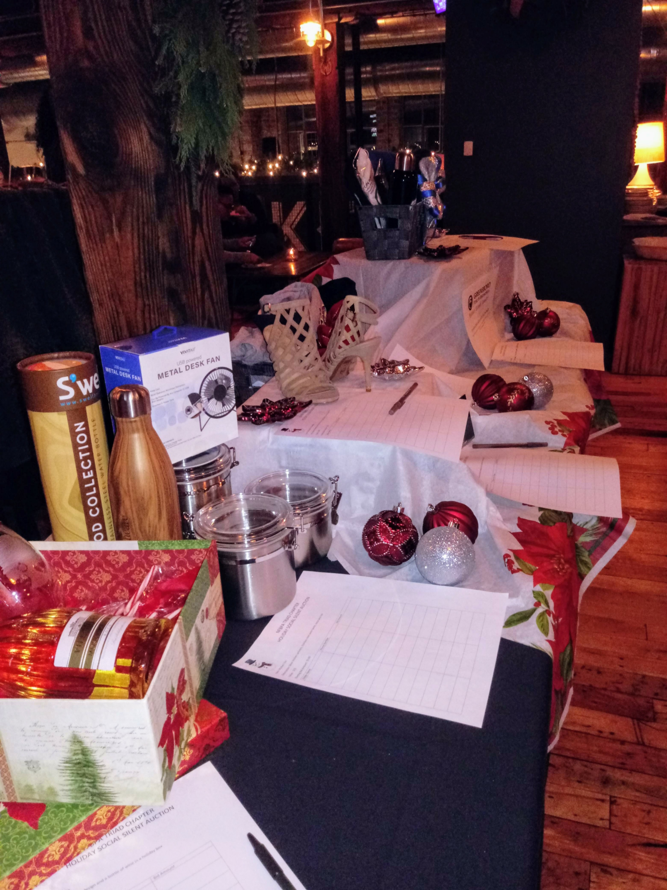 Holiday Social Silent Auction