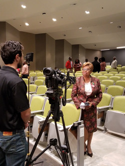 Councilwoman Goldie Wells