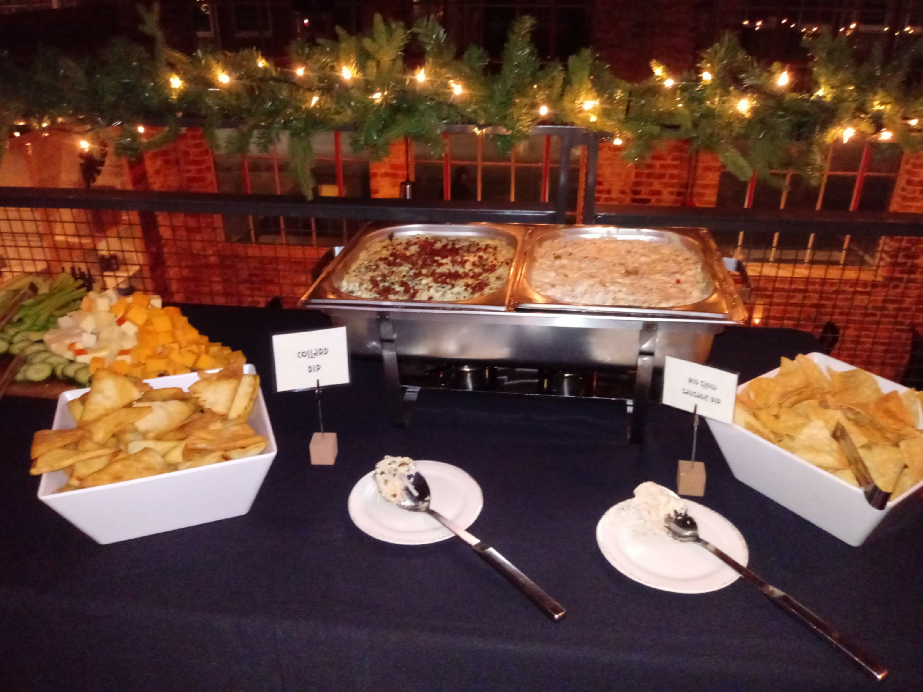 Holiday Social Buffet