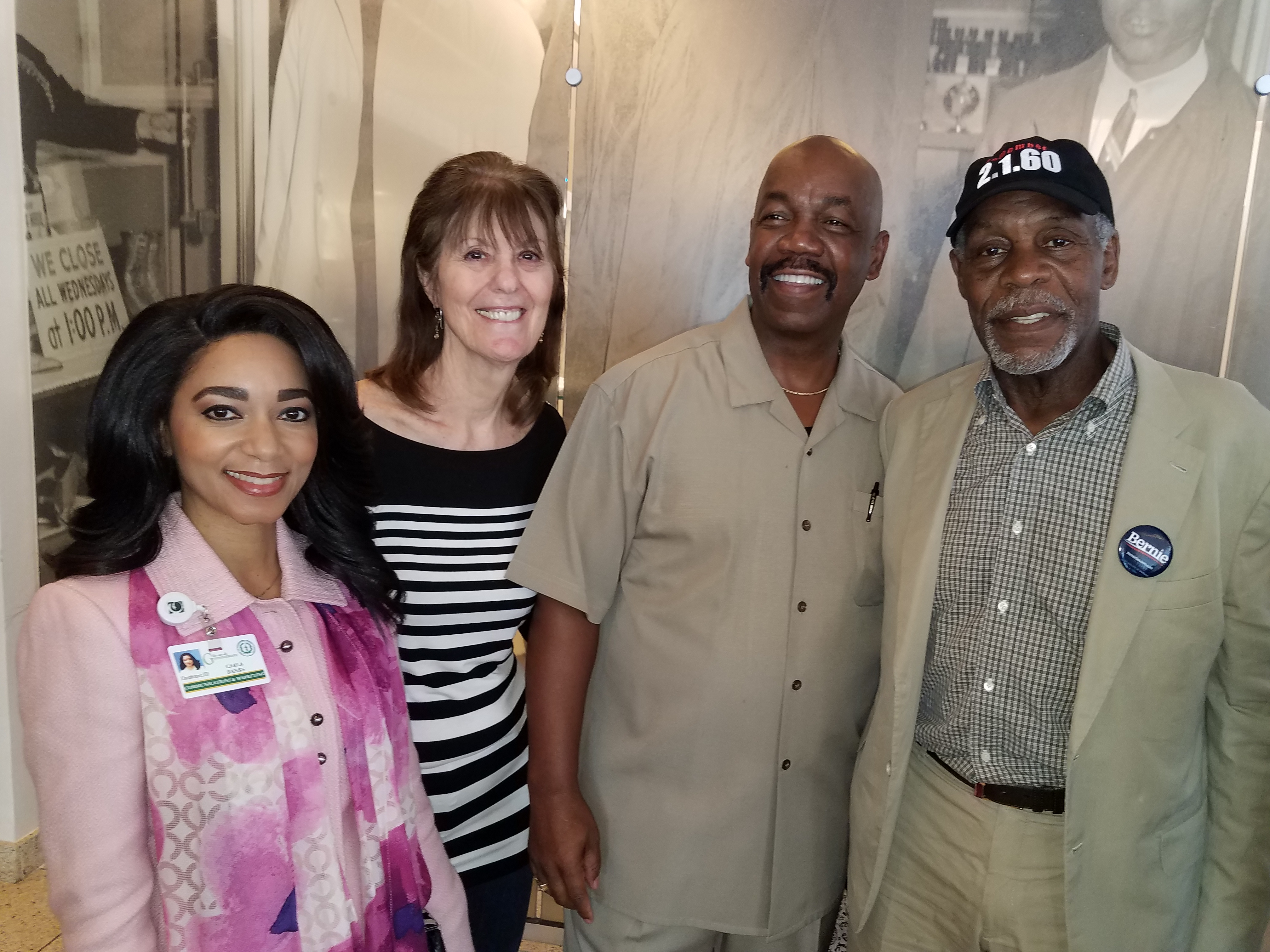 NFBPA Members Meet Danny Glover
