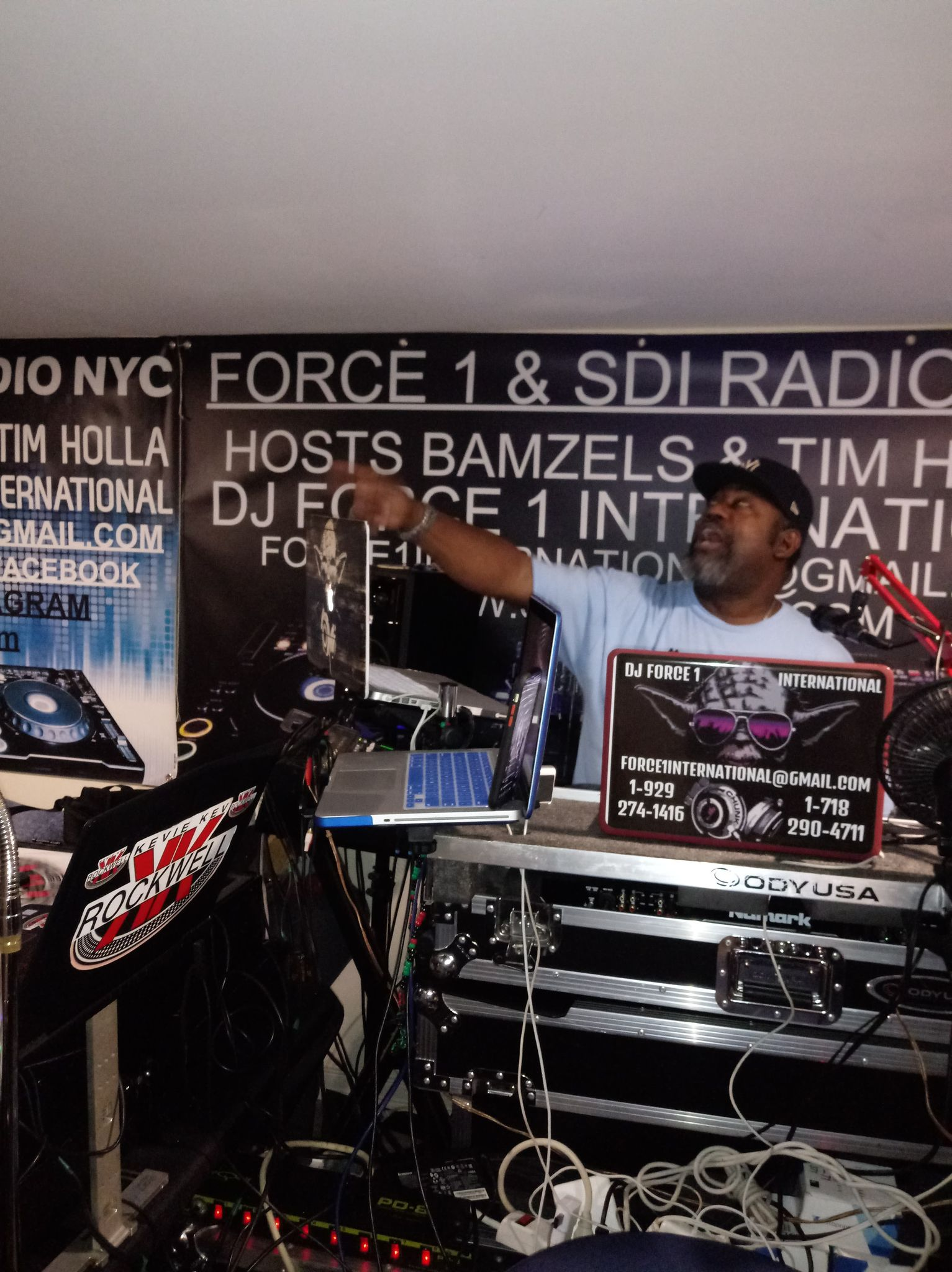 DJ Force 1 of Team SDI NYC