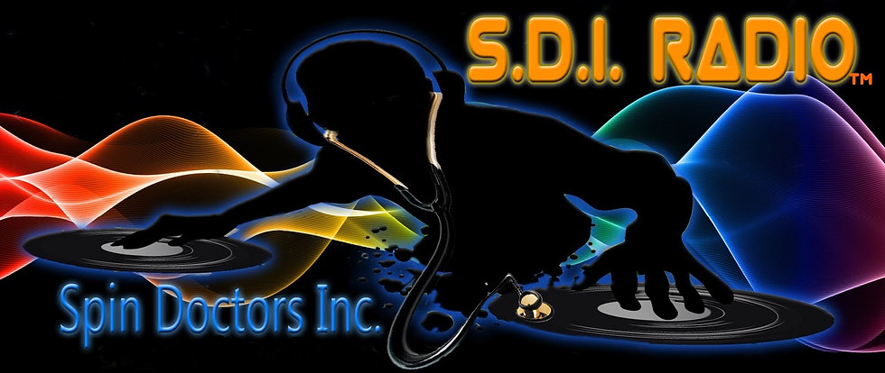 SPIN DOCTORS NEW LOGO WITH RADIO  STATIO