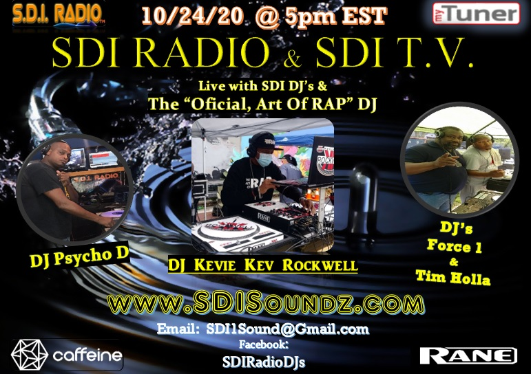 SDI Radio Show with KK Rockwell October