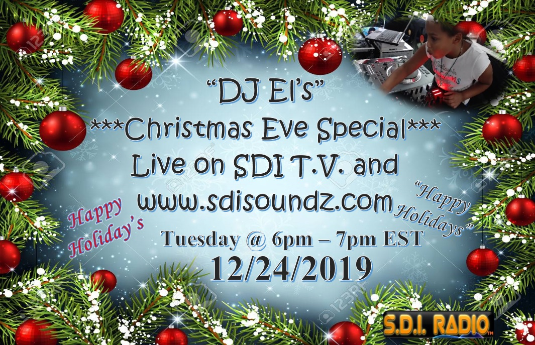 DJ Els Christmas Eve Show Flyer